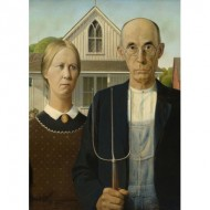 Puzzle  Eurographics-6000-5479 Grant Wood - American Gothic