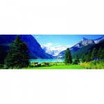 Puzzle  Eurographics-6005-1456 Canada : Lac Louise
