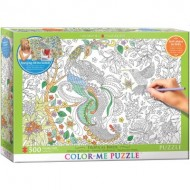 Puzzle  Eurographics-6055-0889 Color Me XXL - Tropical Birds