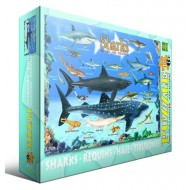 Puzzle  Eurographics-6100-0079 Requins