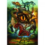 Puzzle  Eurographics-6100-0359 Dinosaures carnivores