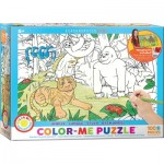 Puzzle  Eurographics-6111-0892 Color Me - Jungle