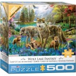Puzzle  Eurographics-6500-5360 Pièces XXL - Wolf Lake Fantasy