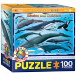 Puzzle  Eurographics-8100-0082 Baleines et Dauphins