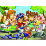 Puzzle  Eurographics-8100-0570 Girl Power - Docteur