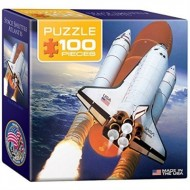 Eurographics-8104-0678 Mini Puzzle - Space Shuttle Atlantis