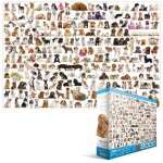 Puzzle  Eurographics-8220-0581 Chiens