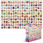 Puzzle  Eurographics-8220-0629 Collection de Cupcakes