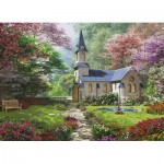 Eurographics-8300-0964 Pièces XXL - Familiy Puzzle: Dominic Davison - Blooming Garden