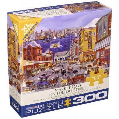Puzzle Eurographics-8300-5384 Market Days on Fulton Street