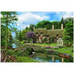 Puzzle  Eurographics-8500-0457 Cottage Cobble Walk