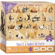 Puzzle  Eurographics-8500-5354 Pièces XXL - Yoga is A Family Activity