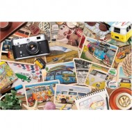 Puzzle  Eurographics-8551-5576 VW Road Trips