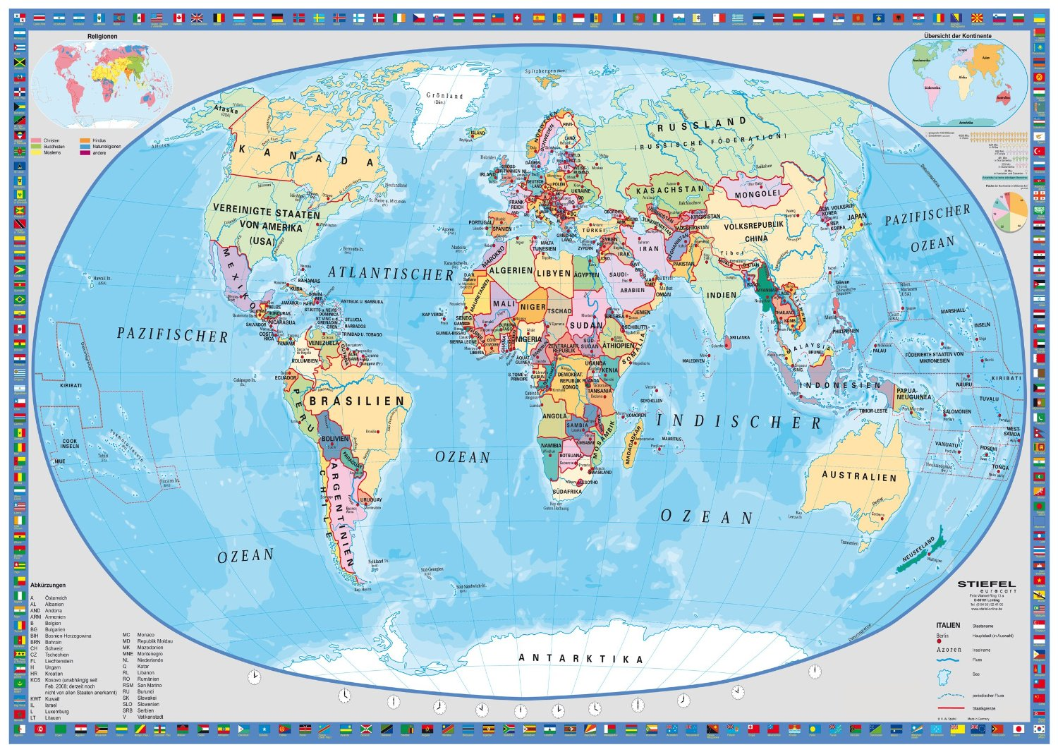carte du monde politique 1000 teile schmidt spiele puzzle acheter en ligne. Black Bedroom Furniture Sets. Home Design Ideas