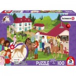Puzzle  Schmidt-Spiele-56402 At the Horse Stables