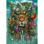 Puzzle  Schmidt-Spiele-58960 King of the Jungle