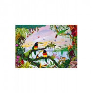 Puzzle  Puzzle-Michele-Wilson-W162-100 Alain Thomas : La Jungle