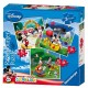 3 Puzzles - Mickey et ses amis