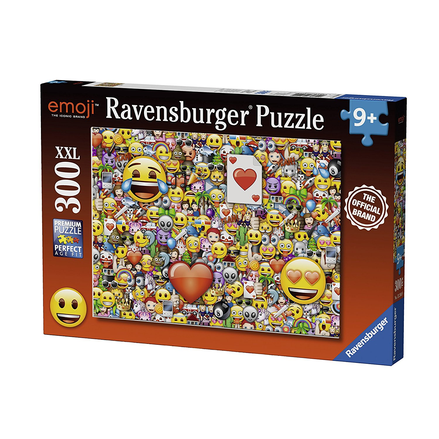 pi ces xxl emoji 300 teile ravensburger puzzle acheter en ligne. Black Bedroom Furniture Sets. Home Design Ideas