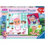 Ravensburger-05104 3 Puzzles - Cry Babies