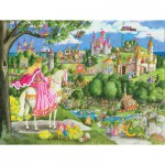 Ravensburger-05371 Puzzle Géant de Sol - Thomas le Train
