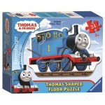 Ravensburger-05372 Puzzle Géant de Sol - Thomas le Train