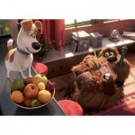 Ravensburger-05483 Puzzle Géant de Sol - Secret Life of Pets