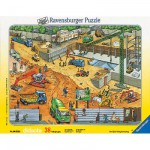 Puzzle  Ravensburger-06678 En cours de construction