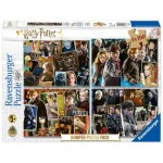 Ravensburger-06832 4 Puzzles - Harry Potter