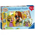 Puzzle  Ravensburger-08024 Disney Tangled - The Series - Raiponce