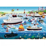 Puzzle  Ravensburger-08793 Happy Harbor
