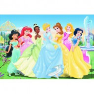Puzzle  Ravensburger-08872 Princesses Disney