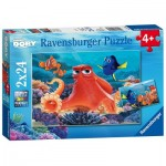 Ravensburger-09103 2 Puzzles - Finding Dory