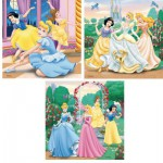 Puzzle  Ravensburger-09411 Rêves de princesses
