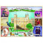 Puzzle  Ravensburger-10784 Pièces XXL - The Tower of London