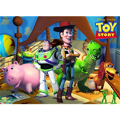 Puzzle Ravensburger-10835 Toy Story
