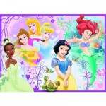 Puzzle  Ravensburger-10857 Princesses Disney : Jolies princesses