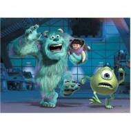 Puzzle  Ravensburger-10941 Pièces XXL - Disney Pixar Collection: Sully, Mike & Boo