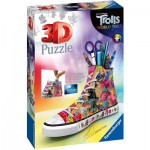 Ravensburger-11231 Puzzle 3D - Trolls World Tour Sneaker