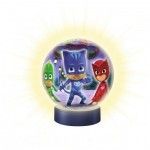 Ravensburger-11771 Puzzle Ball 3D - PJ Masks