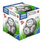 Ravensburger-11937-05 Puzzle-Ball 3D - 1986 Fifa Word Cup
