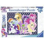 Puzzle  Ravensburger-12719 Pièces XXL - My Little Poney