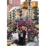 Puzzle  Ravensburger-12964 Relax - Flowers in New York