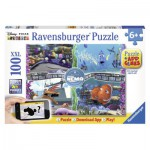 Puzzle  Ravensburger-13661 Nemo + Application