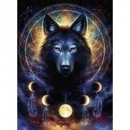 Puzzle  Ravensburger-13970 Starline - Loup