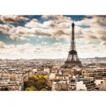 Puzzle  Ravensburger-14087 Paris