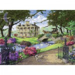 Puzzle  Ravensburger-14690 Visiting the Mansion