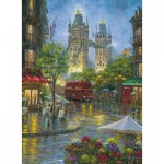 Puzzle  Ravensburger-14812 Londres Pittoresque