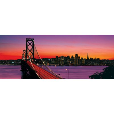 Puzzle Ravensburger-15104 Le Oakland Bay Bridge