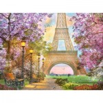 Puzzle  Ravensburger-16000 Amour à Paris